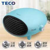 TECO東元 可壁掛陶瓷電暖器-藍 YN1251CBB