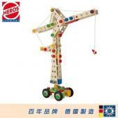 HEROS 德國木玩 建築師 大起重機170pcs【AE08173】