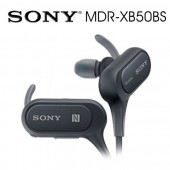 SONY索尼 防水藍牙入耳式藍牙耳機 8.5續航力(MDR-XB50BS) 黑色